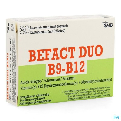 Befact Duo Kauwtabletten 30