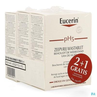 EUCERIN PH5 WASTABLET Z/ZEEP 100G 2+1 GRATIS