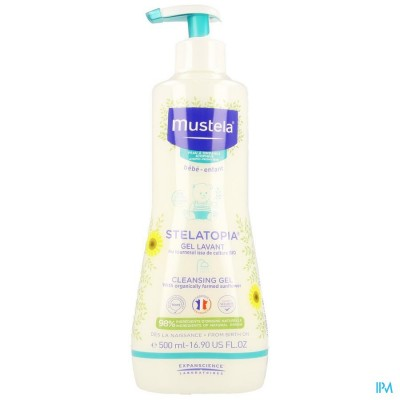 Mustela Pa Stelatopia Gel Lavant 500ml Nf