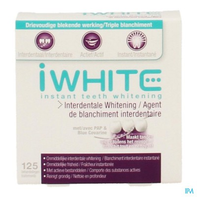 Iwhite Interdental Whitener 125 Treatments