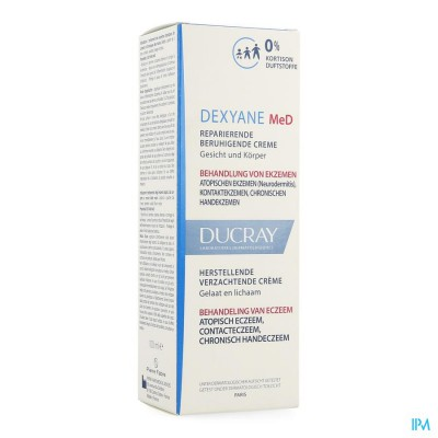 Ducray Dexyane Med Cr Reparatrice Apais. 100ml