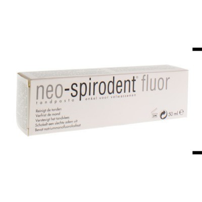 NEO SPIRODENT DENTIF + FLUOR 50ML