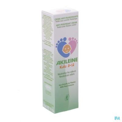 AKILEINE KIDS 3-12 CREME A/TRANSPIRANTE TUBE 50ML