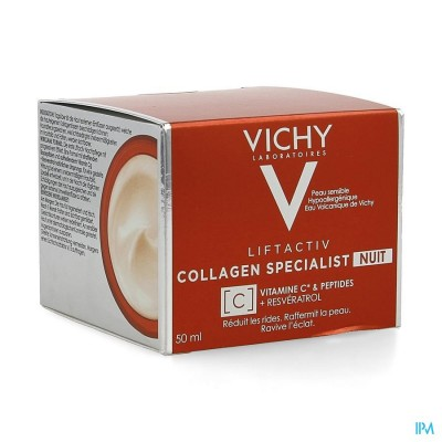 Vichy Liftactiv Collagen Specialist Nuit 50ml