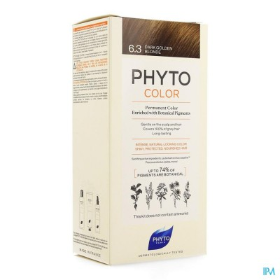 PHYTOCOLOR 6.3 BLOND FONCE DORE