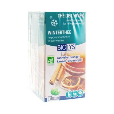 BIOLYS KANEEL-ORANJEBLAD TEA-BAGS 20