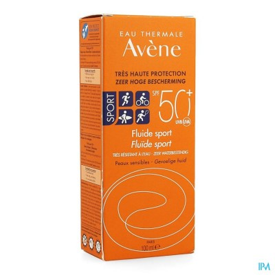 Avene Sol Ip50+ Fluide Sport 100ml