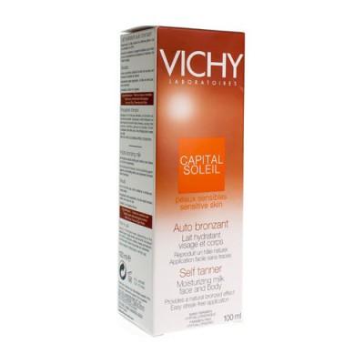 VICHY CAP SOL LAIT AUTO BRONZ VISAGE&CORPS 100ML