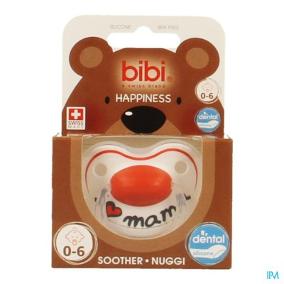 Bibi Sucette Hp Dental I Love Mama 0-6m