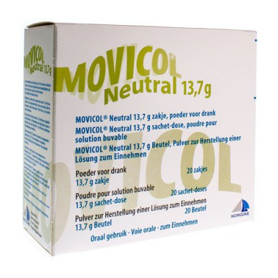 MOVICOL NEUTRAL ZAKJES 20 X 13,7 G