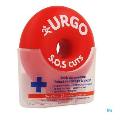 URGO SOS CUTS VERBAND 3M X 2,5CM