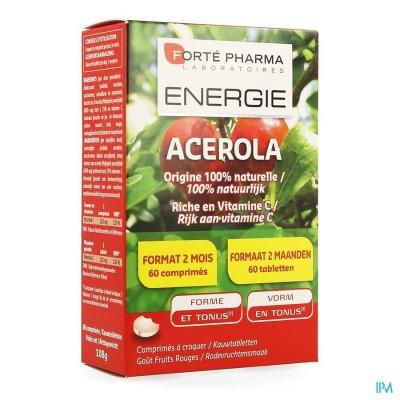 Energie Acerola 35% Gratis Kauwtabletten 60