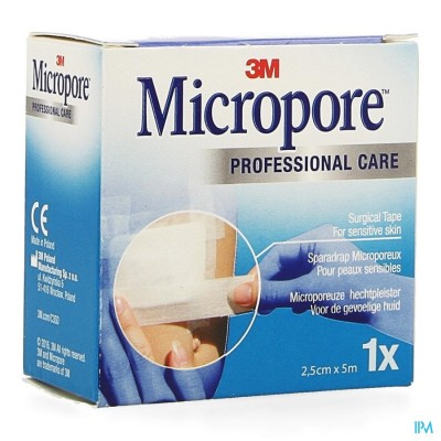Micropore 3m Tape Refill 25,0mmx5m Roul.1 1530p-1s