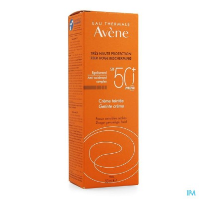 Avene Zonnecreme Getint Ip50+ Nf 50ml