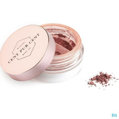 Cent Pur Cent Loose Mineral Eyeshadow Framboise 2g