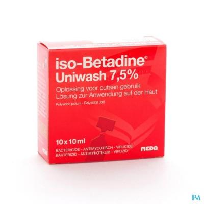 Iso Betadine Uniwash Ud 10flx10ml