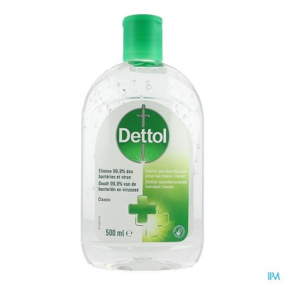 Dettol Gel Desinfectant Mains Classic 500ml