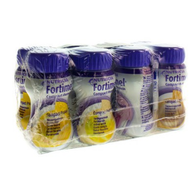 FORTIMEL COMPACT PROTEIN MIX MULTIPACK 8X125ML