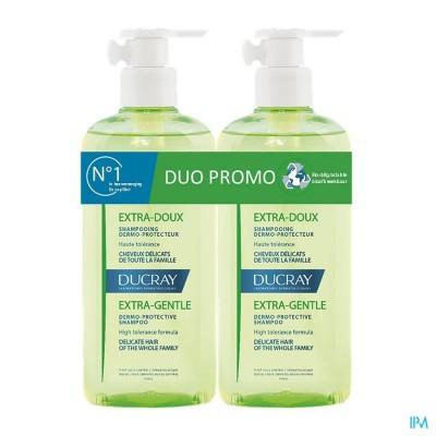Ducray Extra Doux Sh Duo 2x400ml