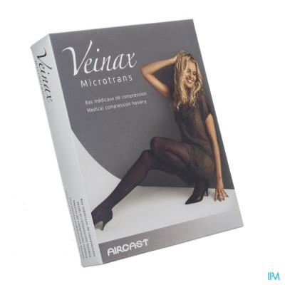 Veinax Kniekous Microfibre 2 Lang Zwart Maat 3