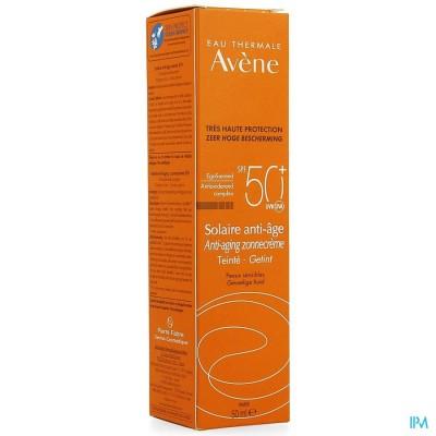 Avene Sol Ip50+ Creme A/age Teinte 50ml
