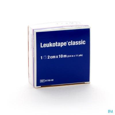 LEUKOTAPE CLASSIC BLANC 2,00CMX10M 1 0170000