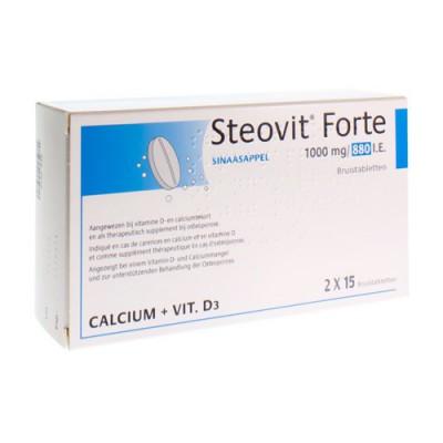 STEOVIT FORTE 1000MG/880 IE/UI COMP EFF 30