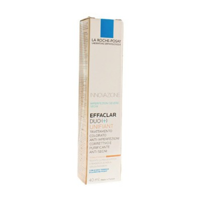 LRP EFFACLAR DUO+ UNIFIANT MEDIUM 40ML