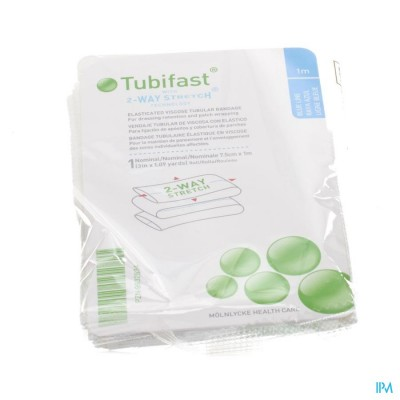 Tubifast Bleu 7,50cmx 1m 1 2482