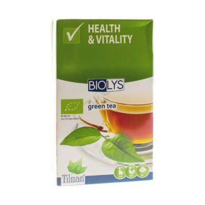 BIOLYS THE VERT BIO TEA-BAGS 20