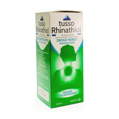 TUSSO RHINATHIOL 0,133% SIR AD 200ML