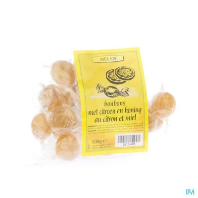 Melapi Bonbons Au Citron-miel 100g 5370