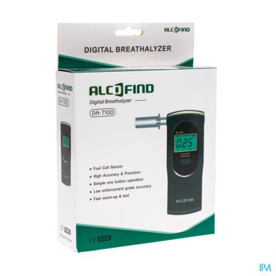 Alcofind Da-7100 Alcoholtest Digitaal