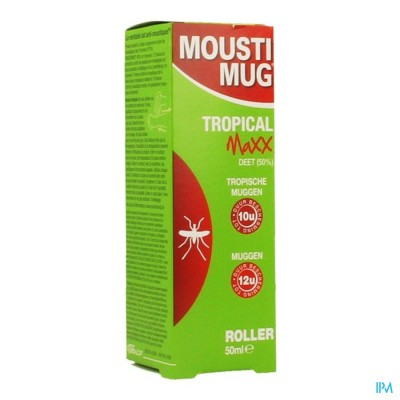 Moustimug Tropical Maxx 50% Deet Rol.50ml