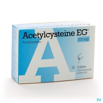 ACETYLCYSTEINE EG SACH 30X200MG