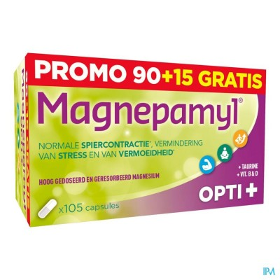 Magnepamyl Opti+ Caps 90+15 Gratuit