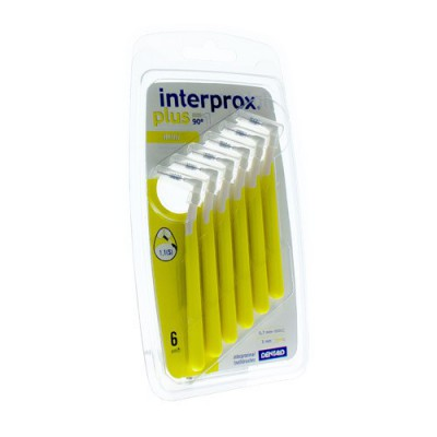 INTERPROX PLUS MINI GEEL INTERD. 6 1350
