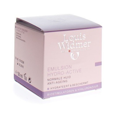 WIDMER EMULSION HYDRO-ACTIVE PARF POT 50ML