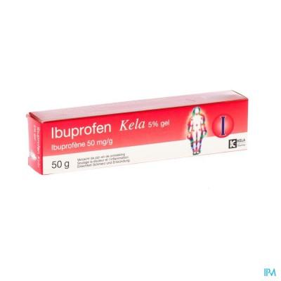 Ibuprofen Kela 5 % Gel 50g
