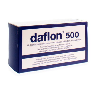 DAFLON 500 COMP 90X500MG