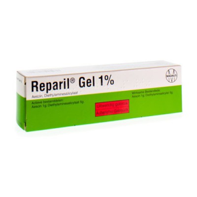 REPARIL GEL 1% 40 G