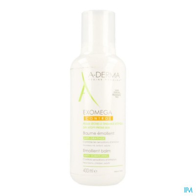 Aderma Exomega Control Baume Emollient Tube 400ml