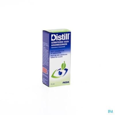 DISTILL GEIRRITEERDE OGEN COLLYRE FL 15ML