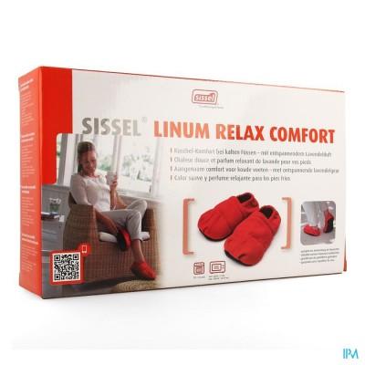 Sissel Linum Relax Comf.warmtepant.lijnz.41-45rood