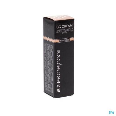 Les Couleurs De Noir Cc Cream 02 Beige Naturel30ml