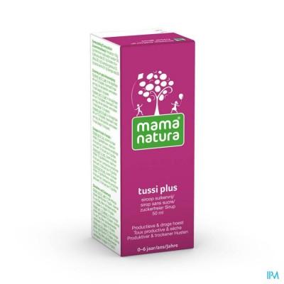 Mama natura tussi plus 50 ml orale siroop ZS