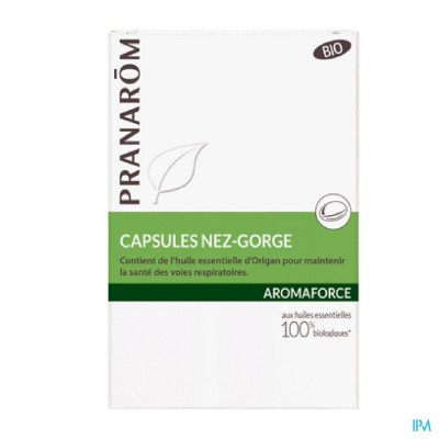 AROMAFORCE NEZ GORGE CAPS 30