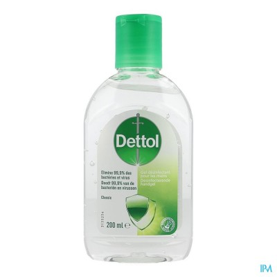 Dettol Gel Desinfectant Mains Classic 200ml