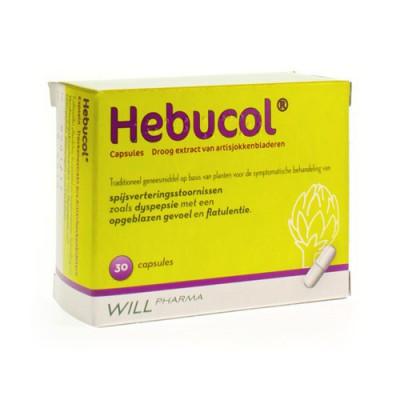 HEBUCOL NF CAPS 30 X 400MG VERV.1509330