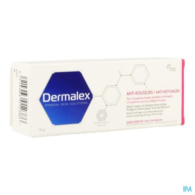 DERMALEX CREME A/ROUGEURS 30G
